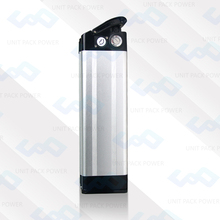 New Arrival Electric Bicycle Battery 48V 10AH Lithium ion Accu with Silver Fish Type Case
