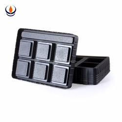 Plastic empty packaging chocolate blister insert tray