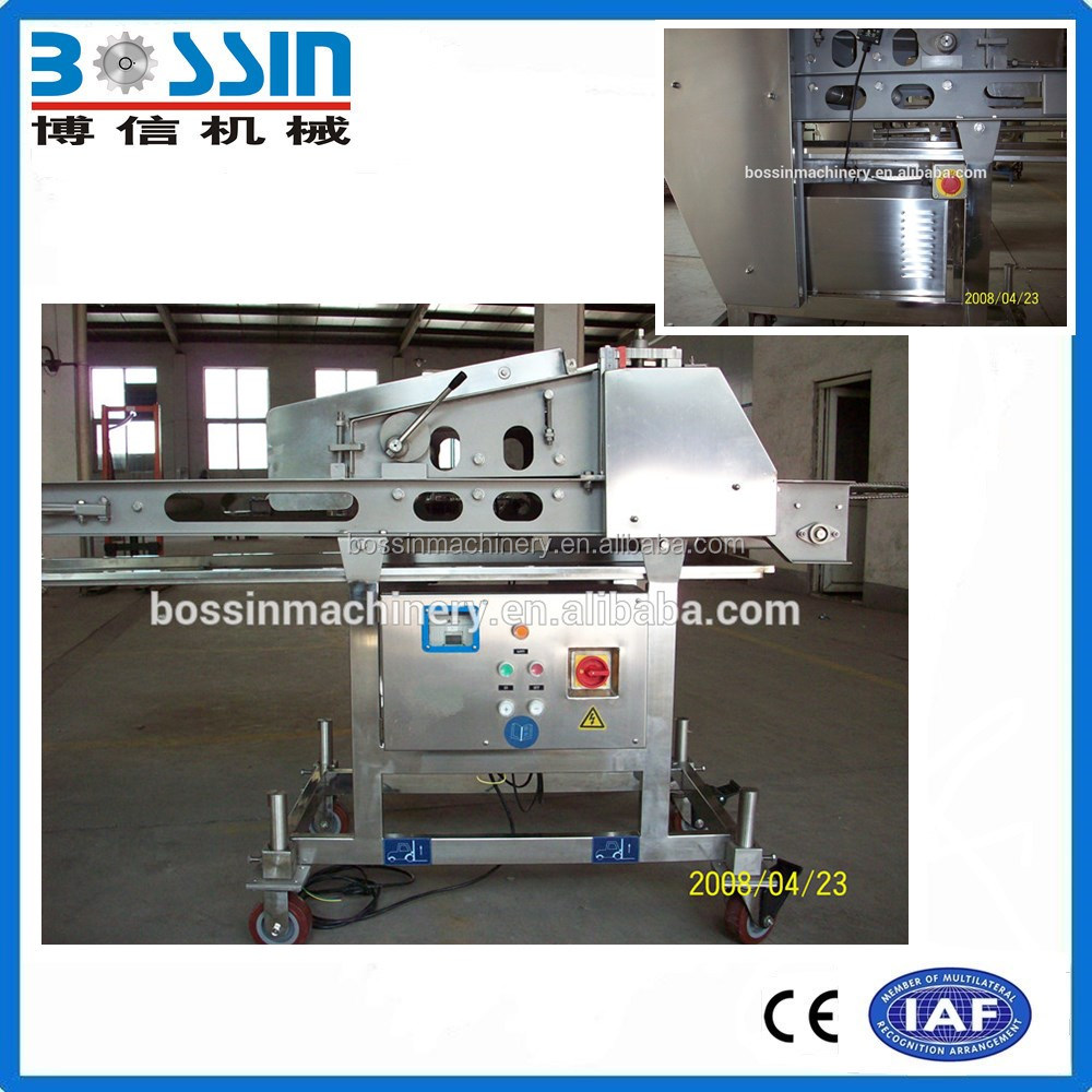 Meat Tender Machine Access to Flattening Machine