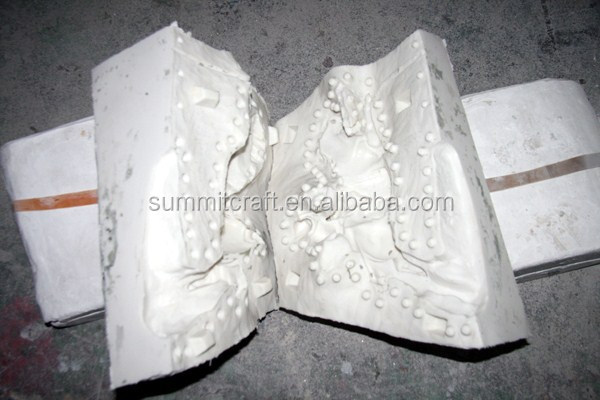Imitation hand sclupting resin custom clay Sculpture models