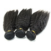 Factory price 100% human virgin brazilian hair mink yaki hair