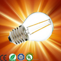 lampadine filamento led 2015 Newest design 6w led filament bulb, e27/b22 A60 led filament lamp A19