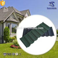Pioneering terracotta metal roof tile/kerala stone coated metal roof tile with 30 gauge