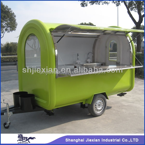 2015 Shanghai JX-FR280B franchise food cart business