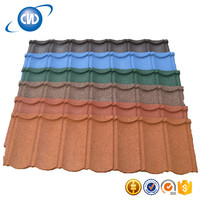 GKR-NC7 Colored Roofing Granules,Light Weight Spanish Tiles Roof,Stone Coated Roof Tile