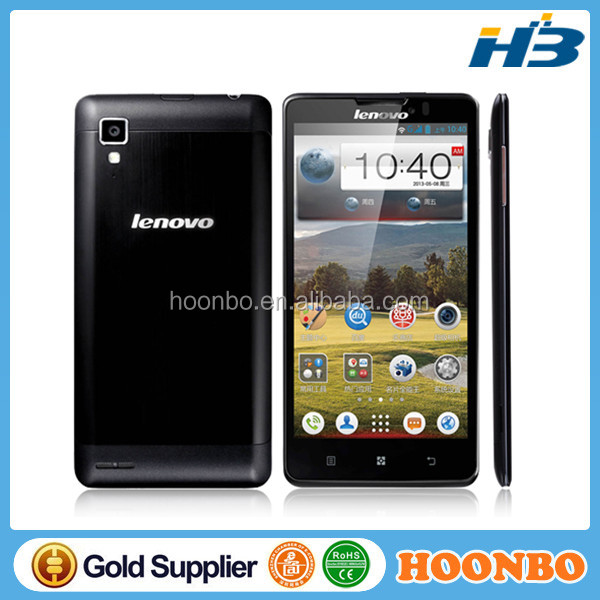 "New Lenovo P780 with 5.0"" MTK6589 Quad Core Android 4.2 1280x720p 1GB RAM 4GB ROM 8.0MP Camera Original Smart Phone Lenovo"