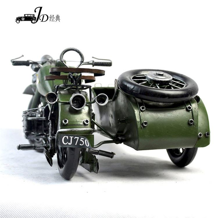 Wholesale prices custom design vintage iron motorcycle model from China