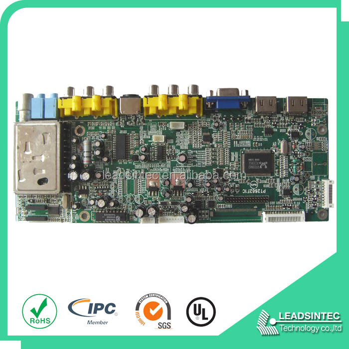 Professional DVD Player Circuit Board Manufacturer, DVD pcb assembly