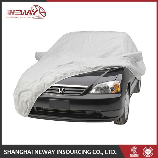Custom non-woven fabric full body car cover