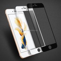 full cover curved 9h tempered glass screen protector for iPhone 7
