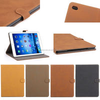 2014 new Retro Book Wallet Leather Case For IPad Air 2