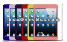 Colorful tempered glass screen protector for Ipad air