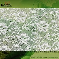 nylon net lace fabric dress material