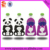 colorful printing reusable spout pouch for baby food, fruit purees