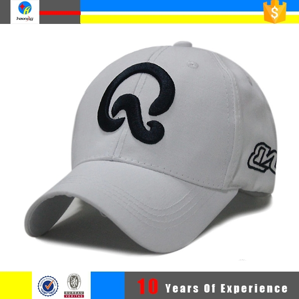 top quality embroidered custom baseball hat