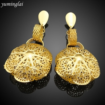 High quality drop Earrings geometric pendant balance earrings gold plated drop earrings