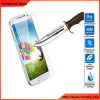 Anti-scratch 2.5d 9H 0.33mm tempered glass screen protector cover for samsung galaxy s4