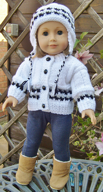 "Wholesale 18"" cute coat for American Girl Doll Clothes"