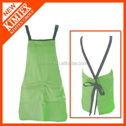 Salon printed cheap 100% cotton aprons