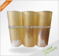 Freezer Storage clear pvc cling film for packaging food grade stretch film pvc super clear film