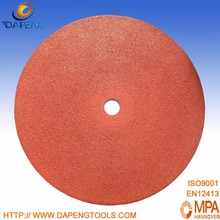 "China Aluminum Oxide 9"" 230x3x22mm metal abrasive disc pad holder"
