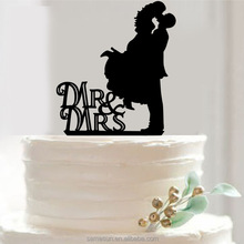 New arrival wedding acrylic cake topper