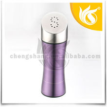 New Style 2PCS Purple Stainless Steel Spice Shaker Set Magnetic