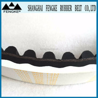 White Rubber Coated Timing Belts