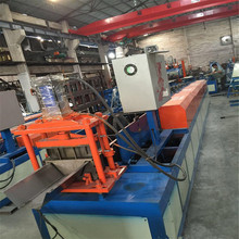 Rainwater roof valley gutter roll forming machine