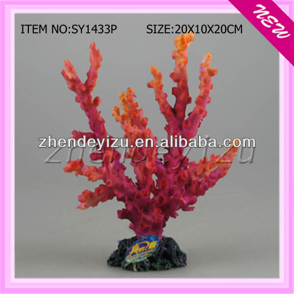 Aquarium fake corals,colorful artificial corals,aquarium coral sale