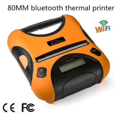WOOSIM 3 inch bluetooth wifi mobile portable thermal wireless receipt printer WSP-I350