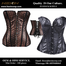 Paypal Accepted S-6XL women's brocade corset s-8xl