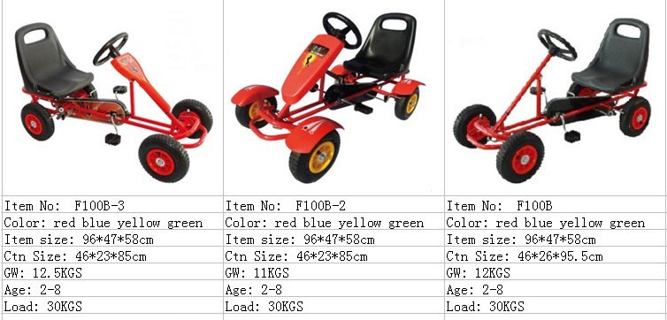 adult pedal car 4 person bike/4 wheel pedal car F4150