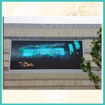 Excellent performance P10 advertising outdoor led display