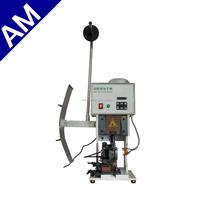 AM30215T High Quality Terminal Crimping Machine with Competitive Price, cable making equipment, rj45 crimping machine