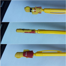 OEM plastic pencil topper for child