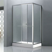 chinese bamboo shower enclosure TB-T3310 simple glass cheap chrome shower enclosure chinese bamboo shower enclosure