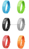 Hot selling Swity w5 silicone wristband watch w5 wristband calories burned watch