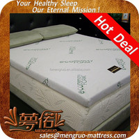roll pack vacuum compress twin size bamboo mattress topper