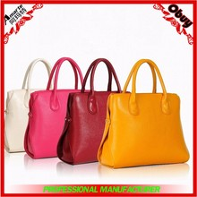 2015 elegant lady PU leather tote bag
