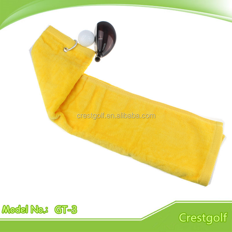 Custom 100% Cotton High quality Golf Towel