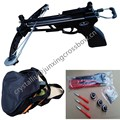 pistol crossbow with hunting arrows and steel bag for outdoor hunting china wholesale
