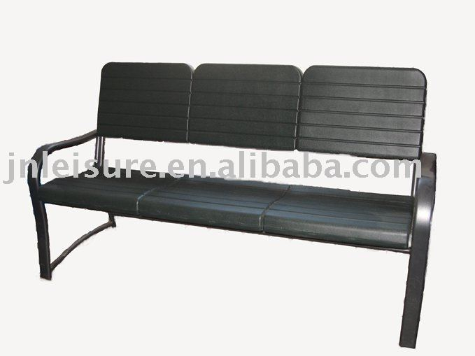 en plastique banc banc de jardin parc banc bancs d. Black Bedroom Furniture Sets. Home Design Ideas