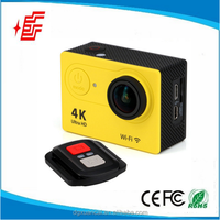 "Remote control 4k 15fps 2.0"" LCD action camera 170degree wide angle 4k sport camera"