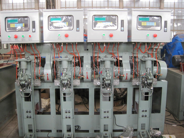 Automatic packing filling machine for powder