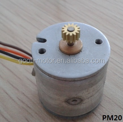 20mm 5v micro stepper motor