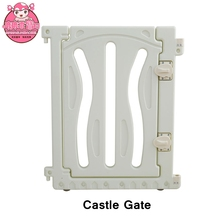 M-10 Gray Color Infant Baby Fence Castle Gate