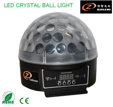Sound Active Auto Run LED Crystal Ball Light Disco Light for KTV Small Party Home Party Bar LED Crystal Ball Light