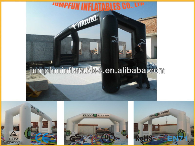 inflatable event arch with LOGO/Advertising inflate arch/PVC inflated Arch cusom-made