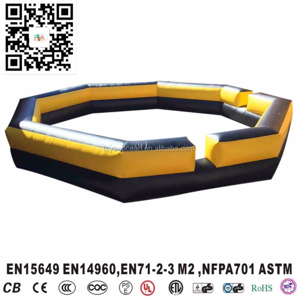 Outdoor Inflatable Gaga Ball Pit for kids Backyard Inflatable Ball Pits for sale